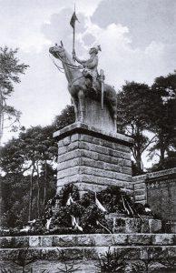Darstellung des Ulanen-Denkmals